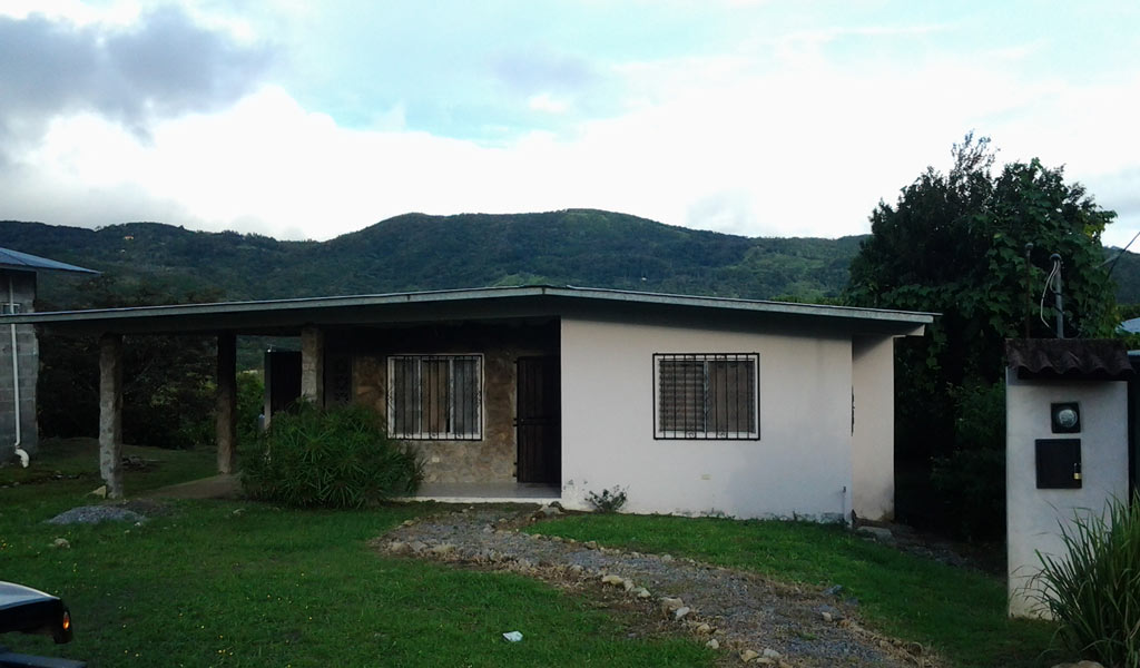 Boquete home for rent $550 per month